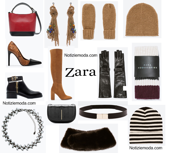 Accessori Zara autunno inverno 2014 2015