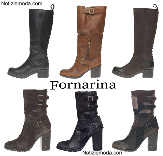 Boots Fornarina calzature autunno inverno