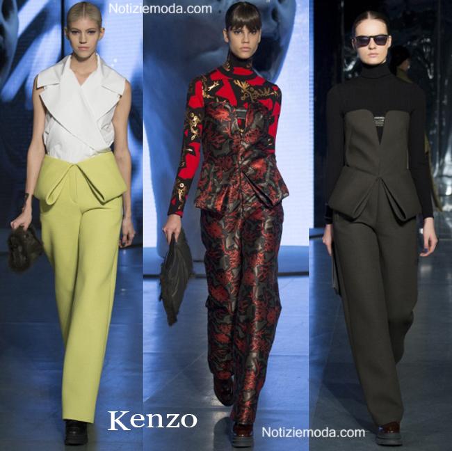 Collezione Kenzo autunno inverno 2014 2015 moda donna