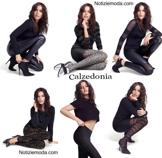 Look Calzedonia autunno inverno 2014 2015 moda donna