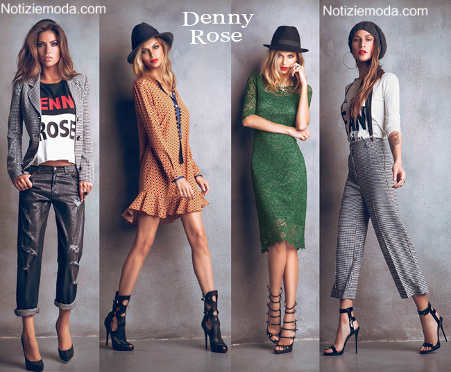 Look Denny Rose autunno inverno 2014 2015 moda donna