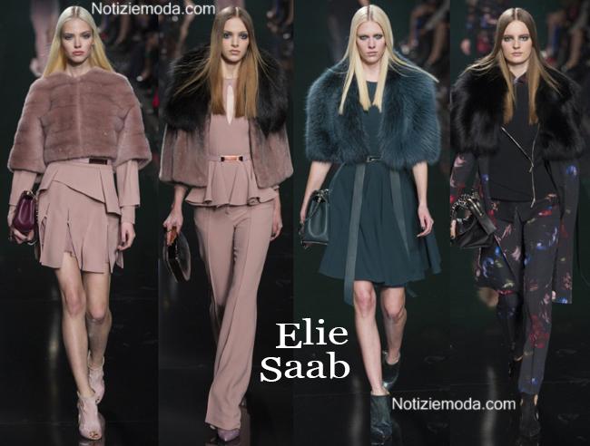 Look Elie Saab autunno inverno 2014 2015 moda donna