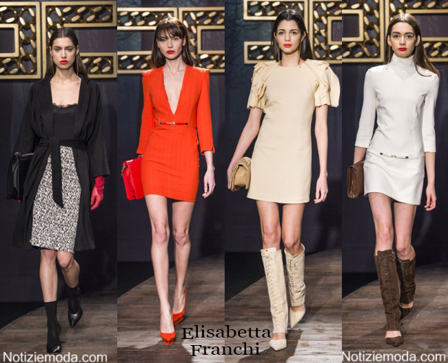 Outfit Elisabetta Franchi autunno inverno 2014 2015 donna