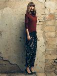 Pantaloni-fiori-Fornarina-autunno-inverno