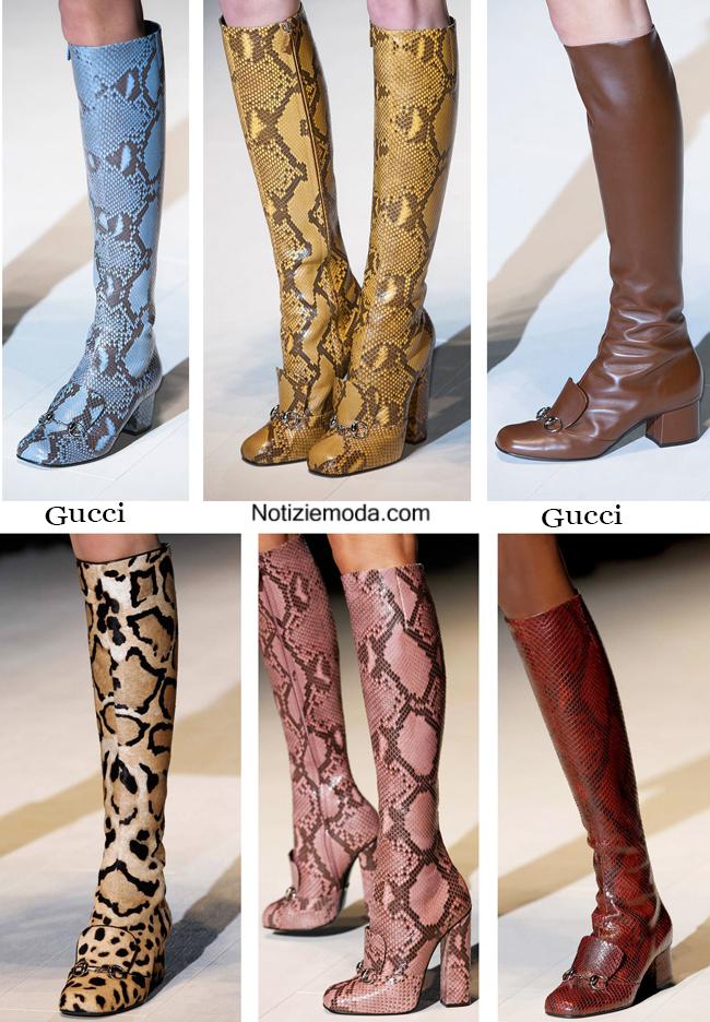 Stivali Gucci autunno inverno 2014 2015 moda donna