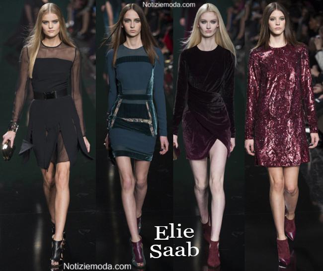 Vestiti Elie Saab autunno inverno 2014 2015 moda donna
