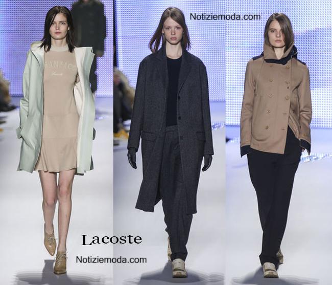 Abbigliamento Lacoste autunno inverno 2014 2015