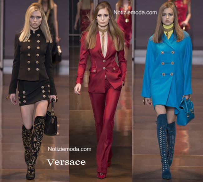 Abbigliamento Versace autunno inverno 2014 2015