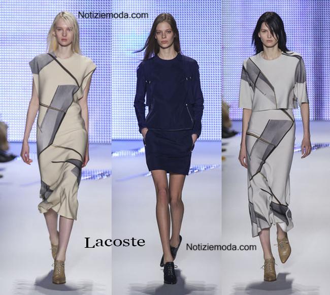 Abiti Lacoste autunno inverno 2014 2015 moda donna