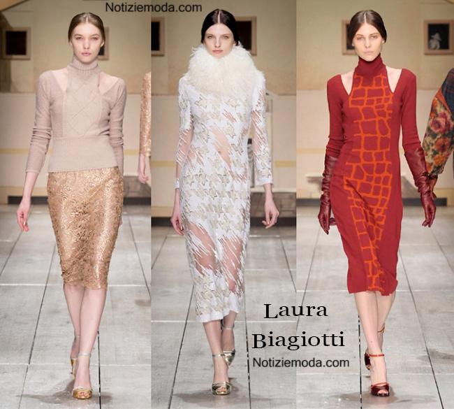 Abiti Laura Biagiotti autunno inverno 2014 2015 moda donna