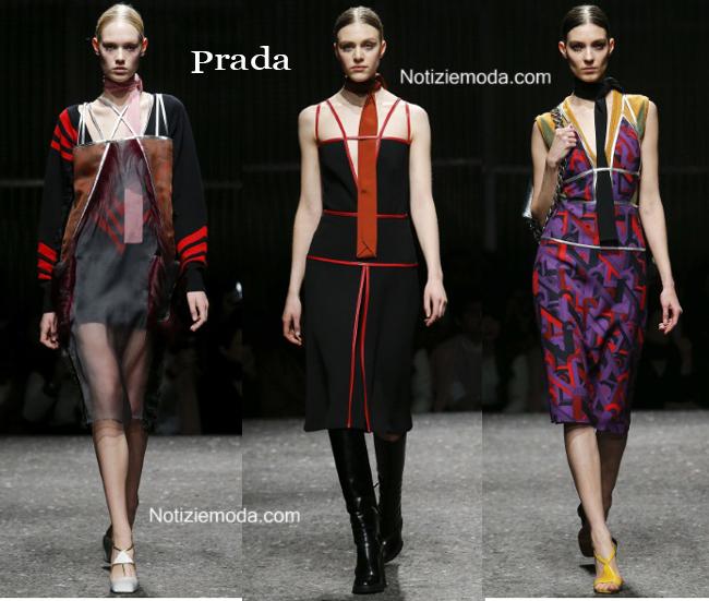 Abiti Prada autunno inverno 2014 2015 moda donna
