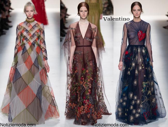 Abiti Valentino autunno inverno 2014 2015 moda donna