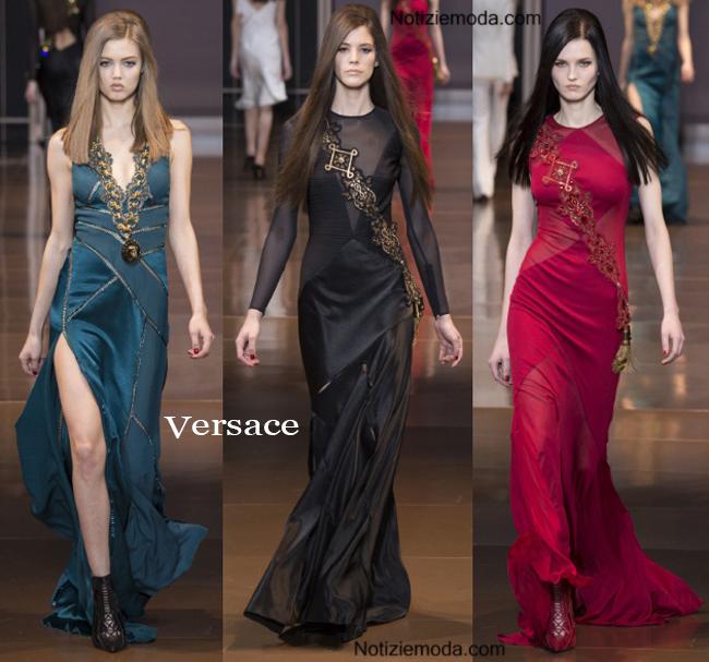Abiti Versace autunno inverno 2014 2015 moda donna