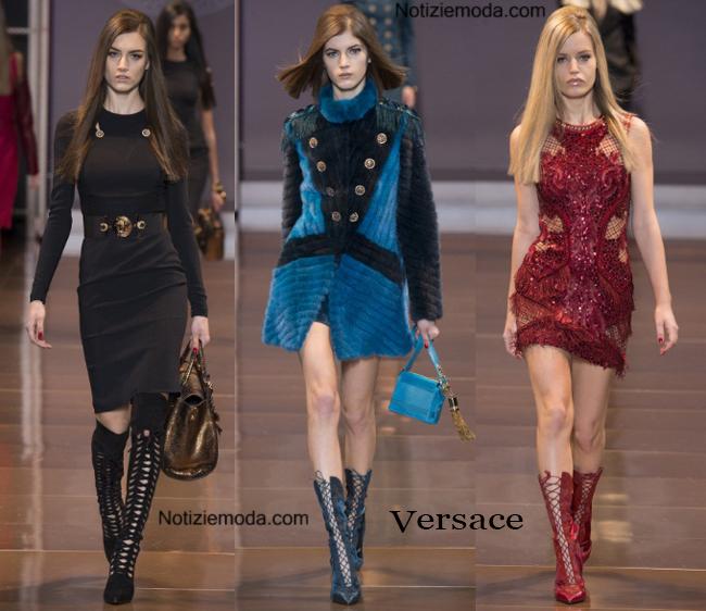 Collezione Versace autunno inverno 2014 2015 donna