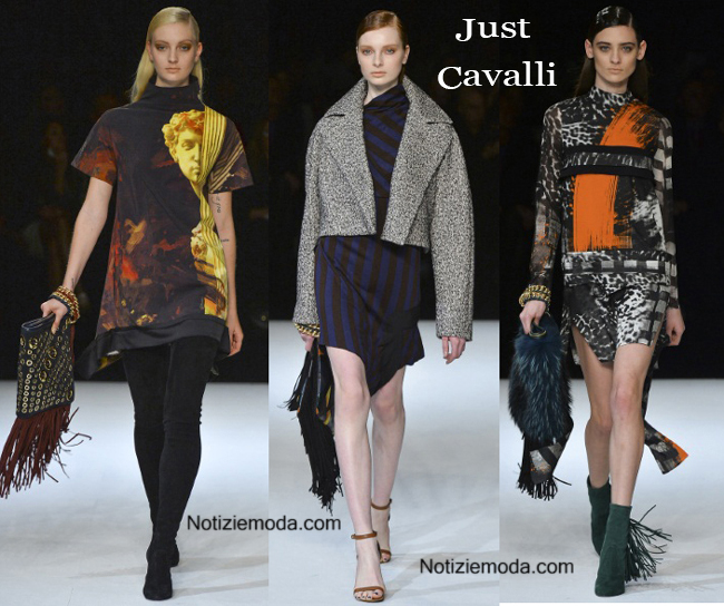 Look Just Cavalli autunno inverno 2014 2015 moda donna