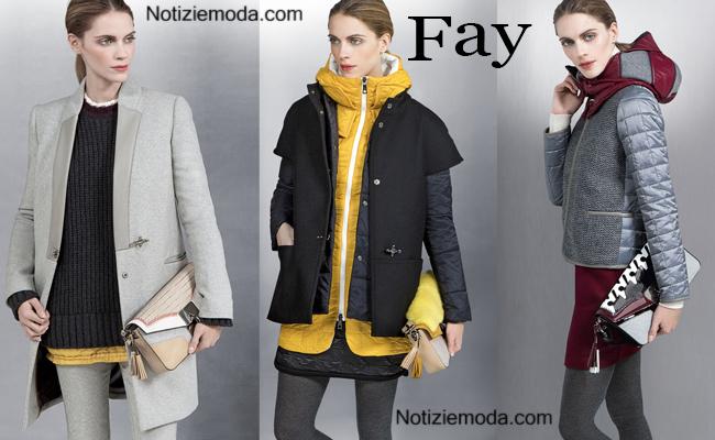the latest cef12 c5cea Abbigliamento Fay autunno inverno 2014 2015 donna