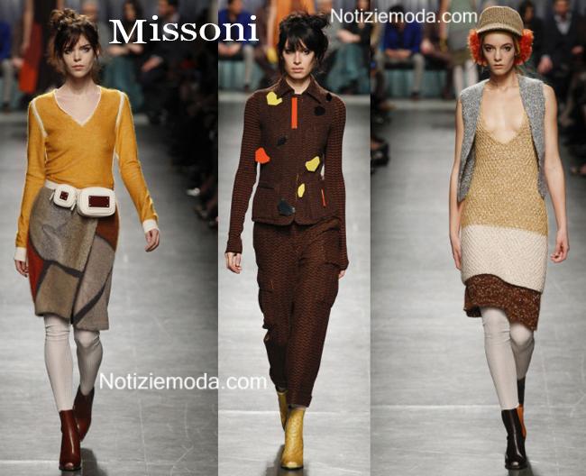 Abiti Missoni autunno inverno 2014 2015 moda donna