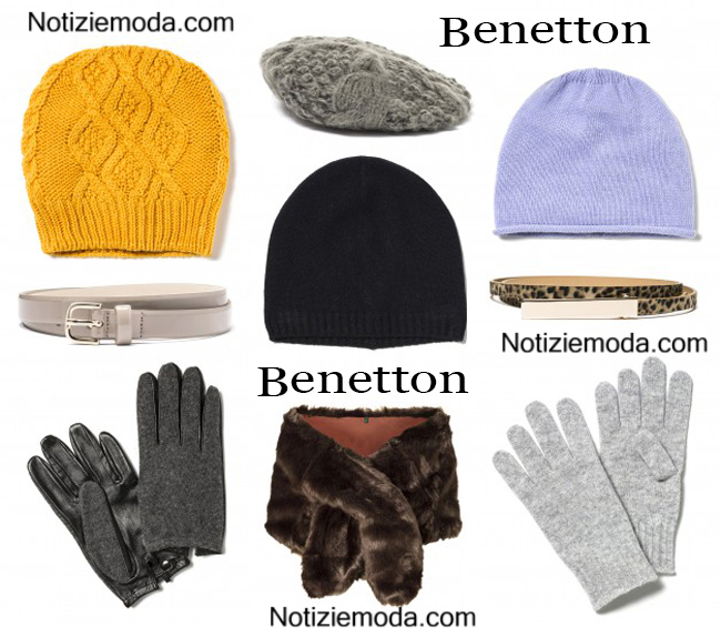 Accessori Benetton autunno inverno 2014 2015