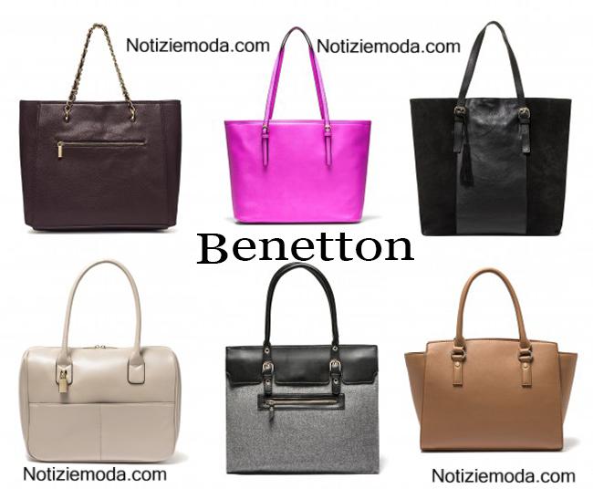 abb4acf01569d Borse Benetton autunno inverno 2014 2015 donna