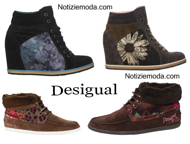 Accessori Desigual calzature autunno inverno