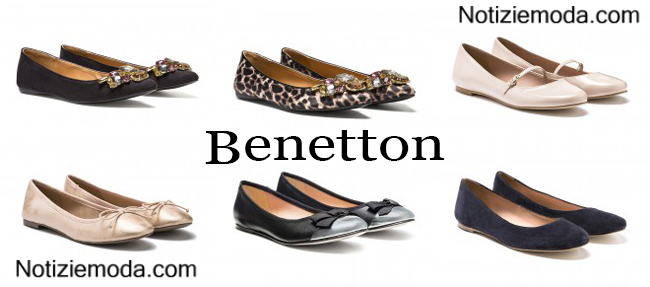 Ballerine Benetton calzature autunno inverno