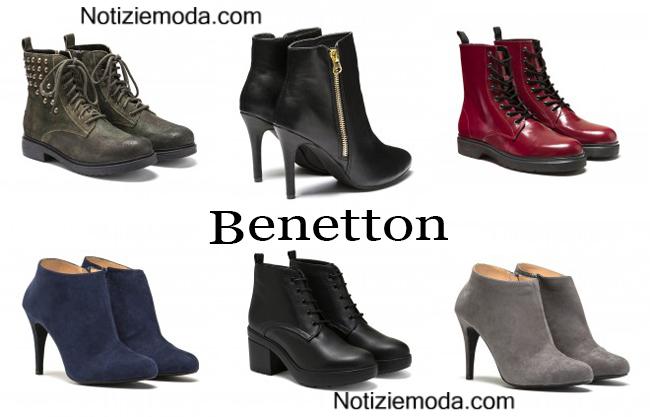 Boots  Benetton calzature autunno inverno donna