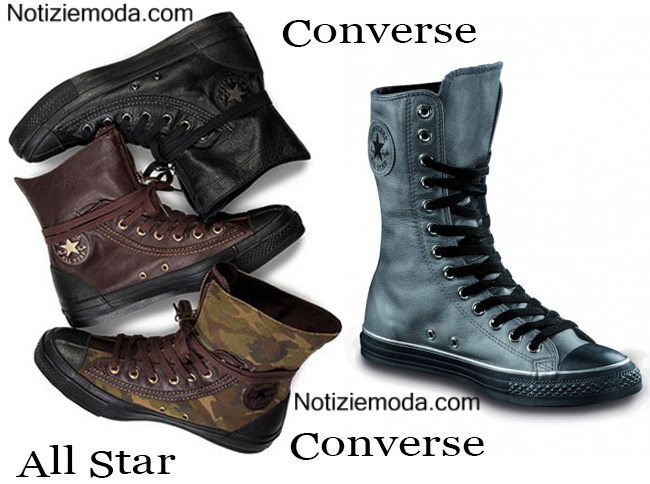 Boots Converse autunno inverno 2014 2015 donna