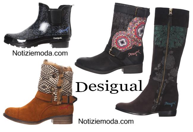 Boots Desigual autunno inverno 2014 2015 donna