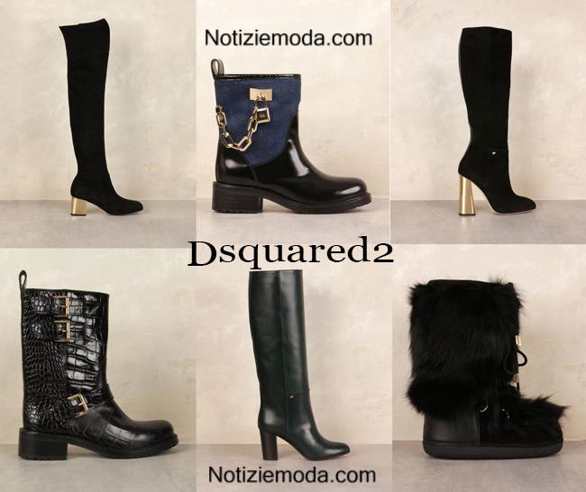 Boots Dsquared2 autunno inverno 2014 2015 donna