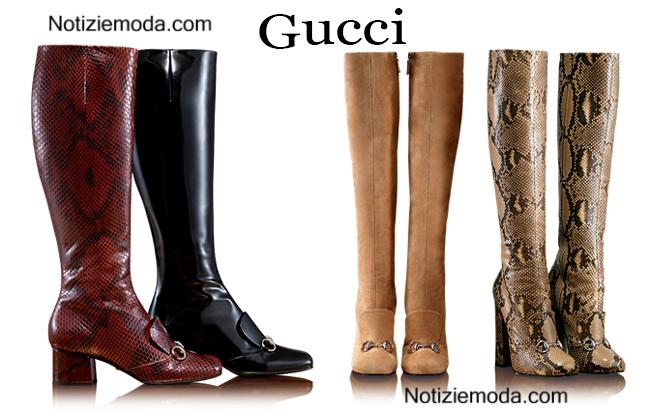 Boots  Gucci calzature autunno inverno donna
