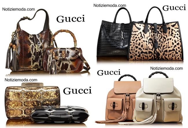 Borse Gucci autunno inverno 2014 2015 donna