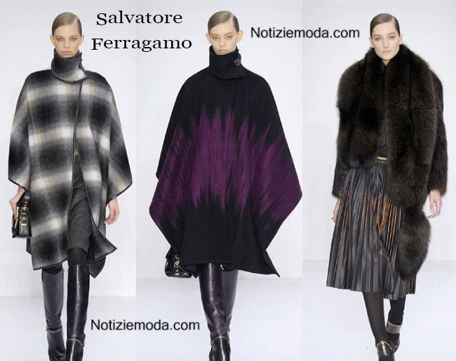 Collezione Salvatore Ferragamo autunno inverno 2014 2015