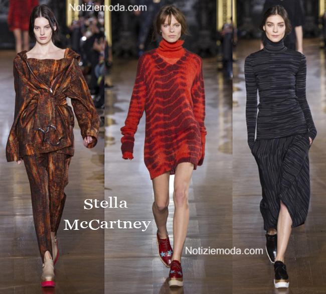 Collezione Stella McCartney autunno inverno 2014 2015 donna