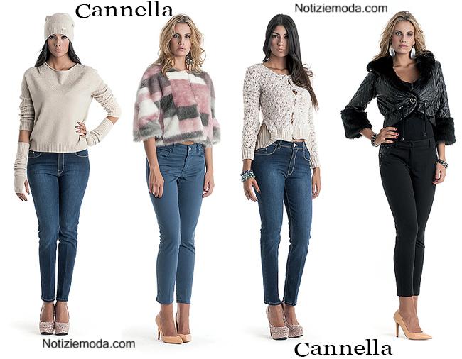 Jeans Cannella autunno inverno 2014 2015 moda donna