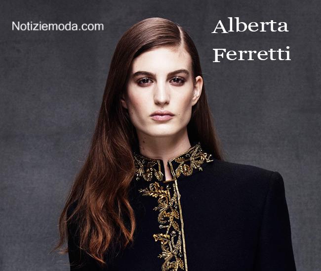 Look Alberta Ferretti autunno inverno moda donna