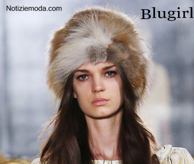 Look Blugirl autunno inverno moda donna