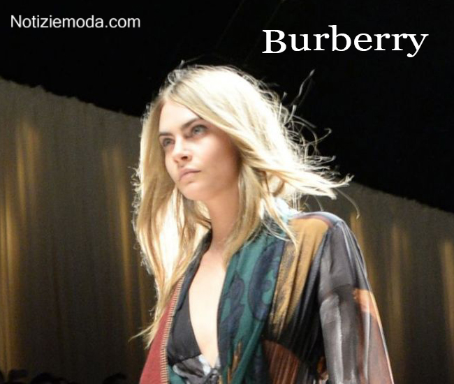 Look capelli Burberry autunno inverno