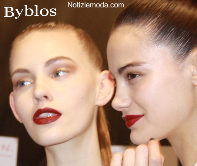 Look capelli Byblos autunno inverno