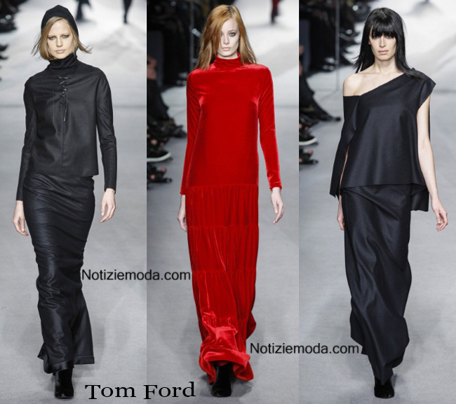 Look Tom Ford autunno inverno 2014 2015 moda donna