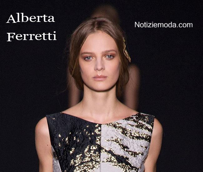 Makeup Alberta Ferretti autunno inverno moda donna