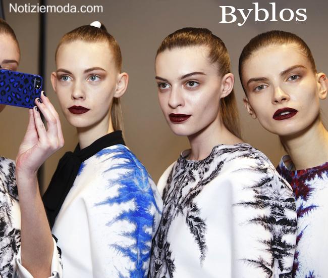Makeup Byblos autunno inverno moda donna