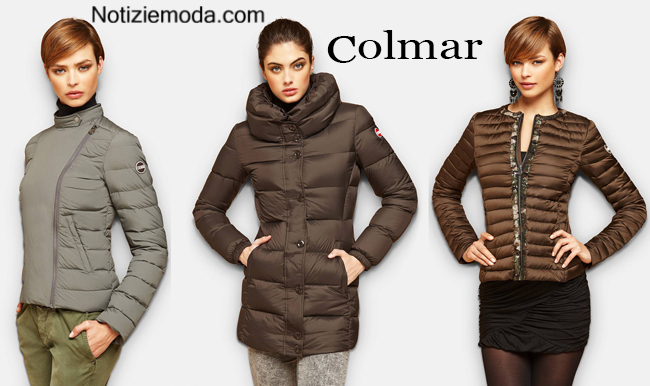 sports shoes 1adda 90311 Piumini Colmar autunno inverno 2014 2015 moda donna