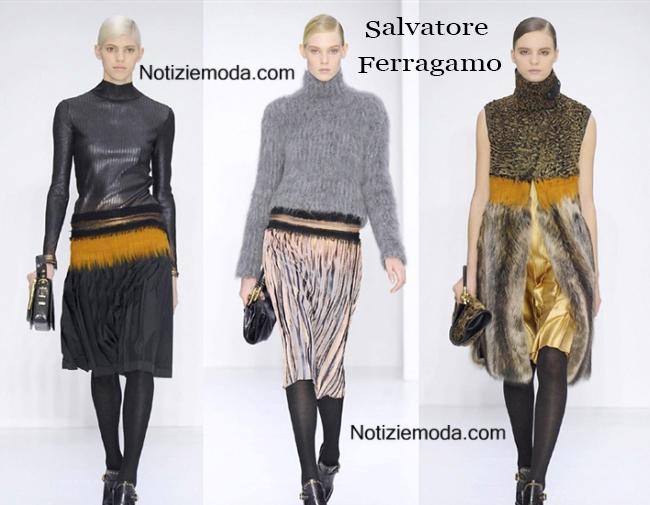 Salvatore Ferragamo autunno inverno 2014 2015 donna