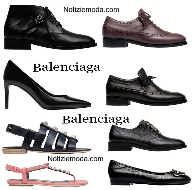 Scarpe Balenciaga autunno inverno 2014 2015 moda donna