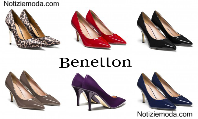 Shoes Benetton autunno inverno 2014 2015