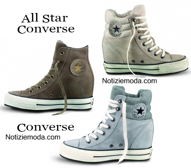 Sneakers Converse All Star calzature autunno inverno