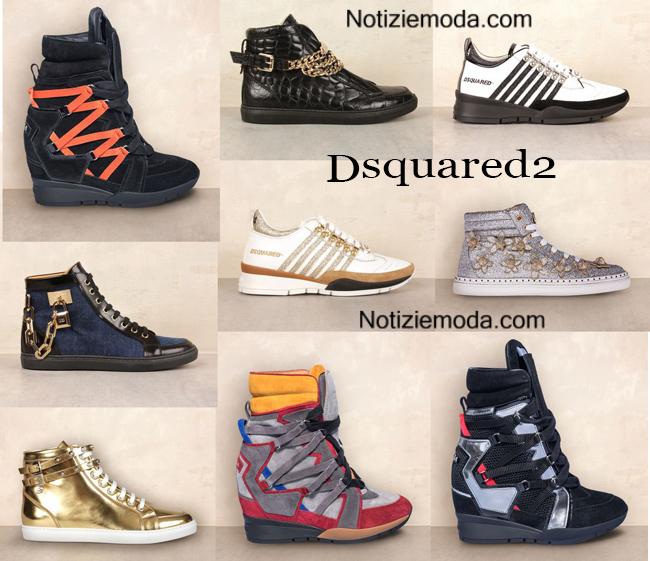 Sneakers Dsquared2 autunno inverno 2014 2015 donna