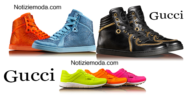Sneakers Gucci autunno inverno 2014 2015