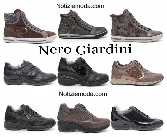 Sneakers Nero Giardini autunno inverno 2014 2015 donna
