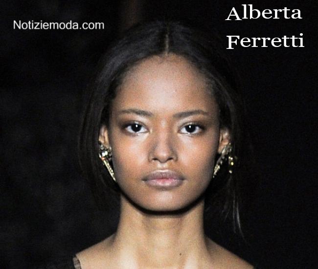 Stile Alberta Ferretti autunno inverno moda donna